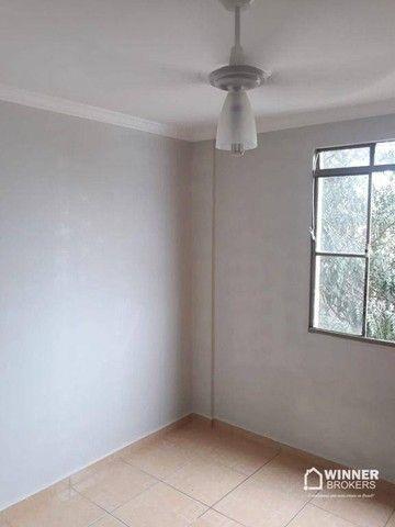 Apartamento com 3 dormitórios para alugar, 64 m² por R$ 900,00/mês - Zona 08 - Maringá/PR - Foto 11