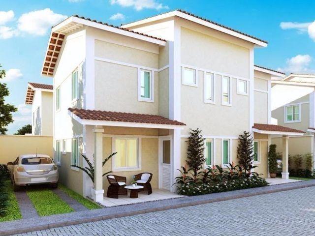 Condomínio fechado c/ 10 Casa duplex com 3 Suites, 2 vagas no Mestre Antonio Caucaia