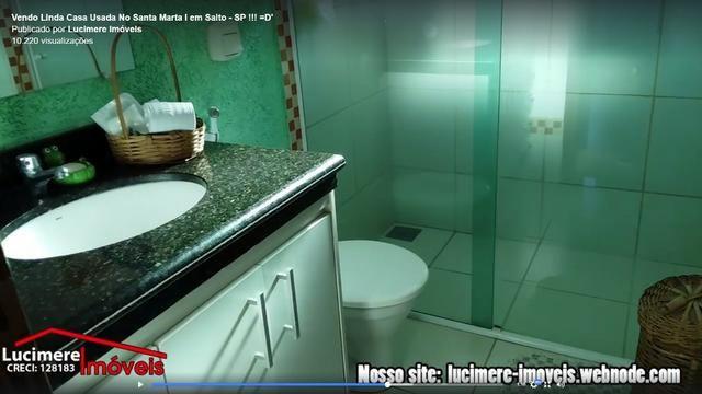 Vendo Casa Usada no Valor de R$ 320.000 - No Santa Marta / Aceita Financiamento - Foto 13