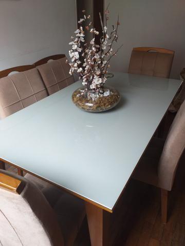 Mesa de vidro linda - Foto 3