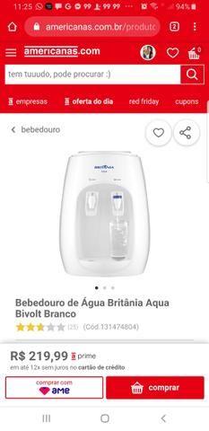 Vendo filtro bivolt Britânia