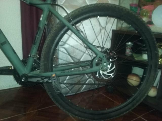 Bicicleta top para caminhada e ciclismo Collin semi nova - Foto 3