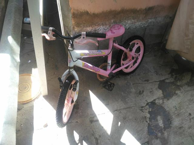 Bike da barbie 150,00