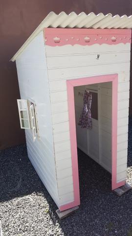 Casinha infantil de Madeira - Foto 4