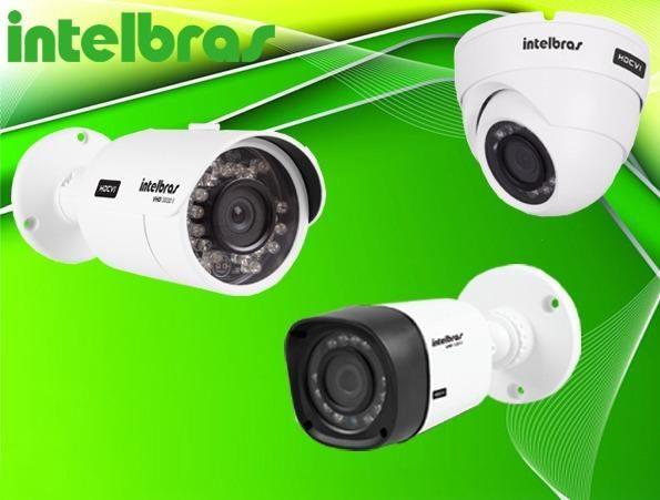 Kit DVR + 2 Câmeras Intelbras, Instalado, HD-720P - Foto 6