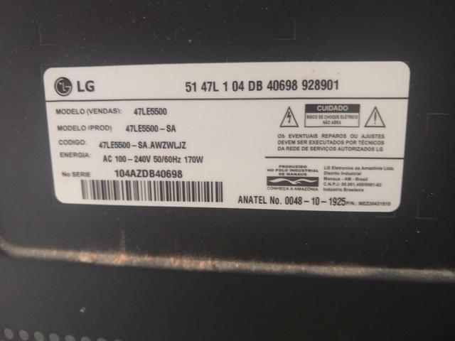 Vendo 51 polegadas LG led barbada 900,00 - Foto 2