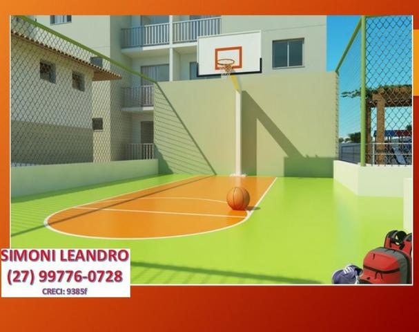 SCL - 03 - Apartamento 2qrts, itbi e registro grátis em Jacaraipe - Foto 4