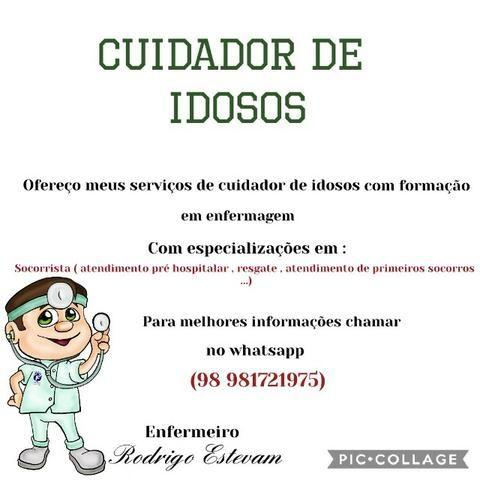 Enfermeiro Cuidador e Socorrista