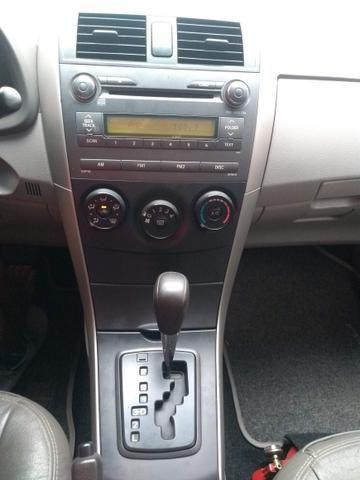 Corolla 2009 automático - troco menor valor - Foto 6