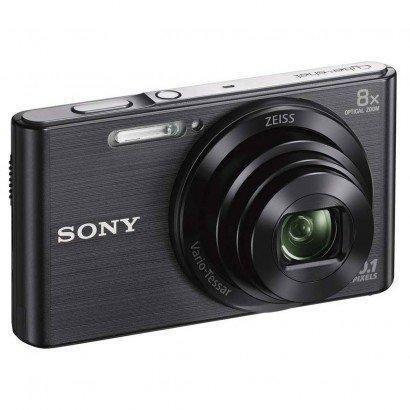Câmera Digital Sony Cyber Shot Lcd De 2,7' 20.1mp Dsc-W830 Preto