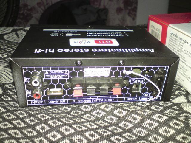 Amplificador de som - Foto 3
