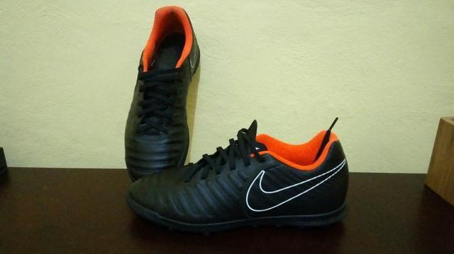 Chuteira Society Nike Tiempo - Esportes e ginástica - Jardim Novo ... 8409243bc07d1