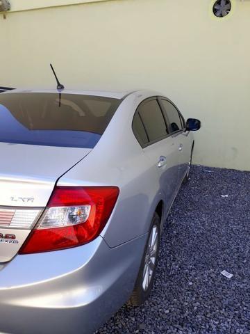 Honda Civic 2.0 LXR com kit multimídia original Honda 2013 - 2014 - Foto 8