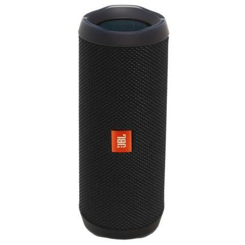 Speaker JBL Flip 4 Bluetooth Preto - IPX7 à prova d?água - Foto 2