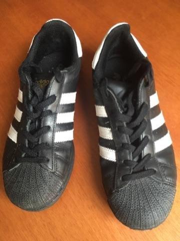 Superstar Adidas Original Couro num 35 - Roupas e calçados - Centro ... b728ab178d5d7