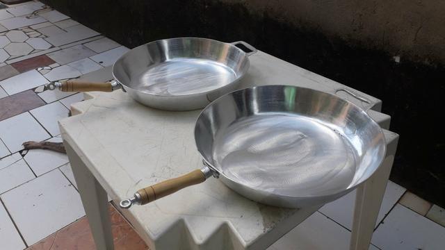 Frigideiras de alumínio batido - Foto 4