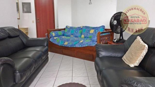 Apartamento com 1 dormitório à venda, 61 m² por R$ 225.000 - Boqueirão - Praia Grande/SP - Foto 5