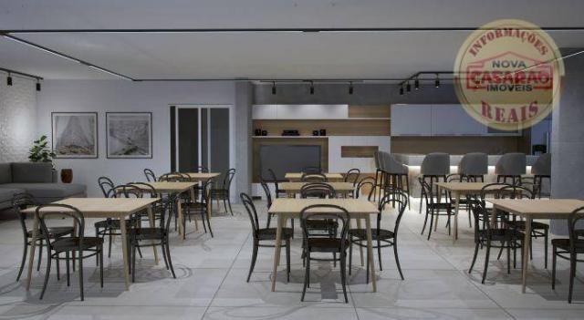 Apartamento com 2 dormitórios à venda, 72 m² por R$ 362.373 - Cidade Ocian - Praia Grande/ - Foto 19