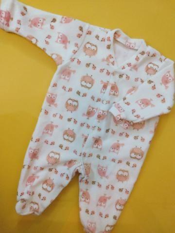 Roupas de bebê do P ao M
