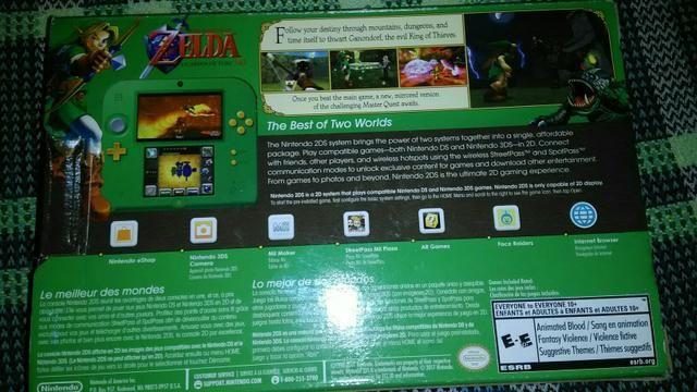 Nintendo 2ds zelda ocarina of time desbloqueado