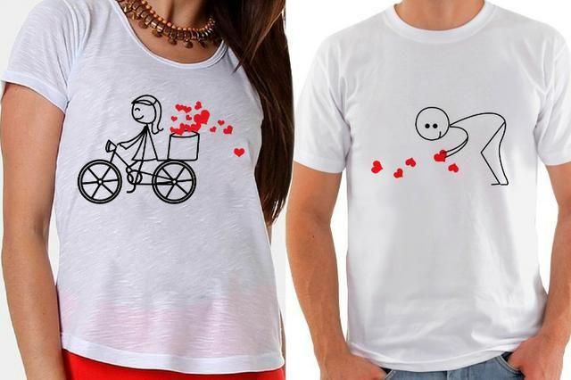 3cf6d87ff4 Camiseta personalizada mega promoção do dia dos namorados R 25