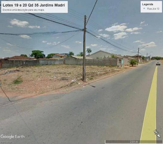 Terreno à venda, 883 m² por r$ 440.000,00 - jardins madri - goiânia/go