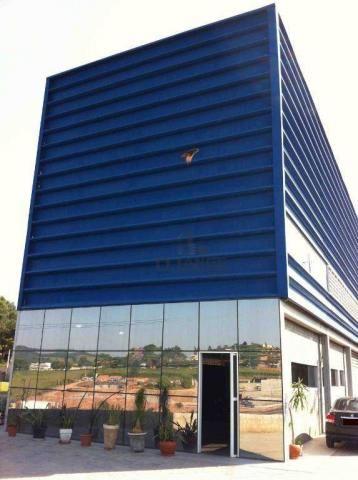 Galpão à venda, 1800 m² por r$ 6.000.000,00 - dos ivo - jarinu/sp