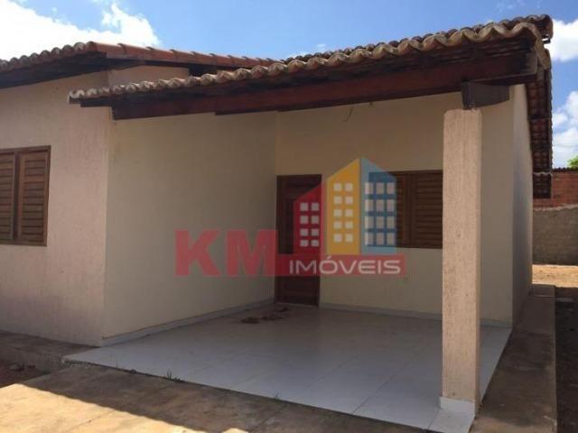 Aluga-se Casa Recém Construída no Três Vinténs - KM IMÓVEIS - Foto 5