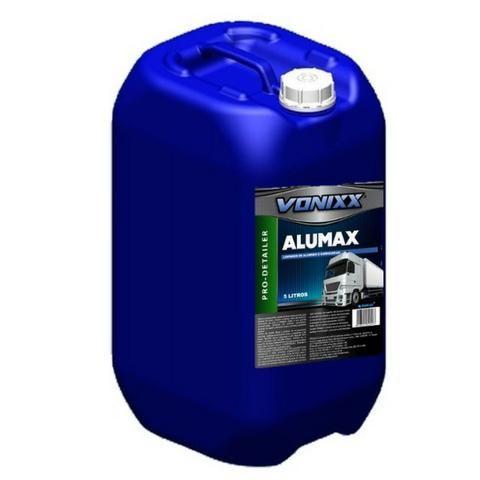 Alumax Limpa Aluminio Baú De Caminhão Vonixx