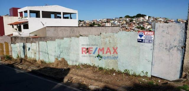 Terreno à venda, 300 m² por r$ 160.000 - boa vista - ilhéus/ba