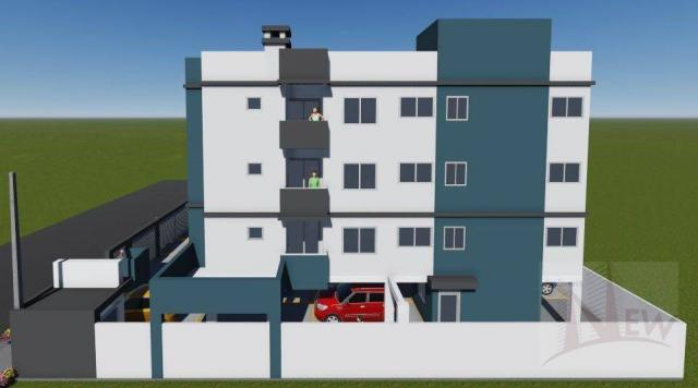 Apartamento 02 quartos no Cidade Jardim, São José dos Pinhais - Foto 3