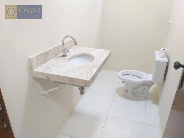 Sobrado com 4 dormitórios à venda, 208 m² por R$ 615.000,00 - Vila Valparaíso - Santo Andr - Foto 6