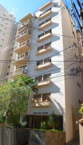 Apartamento com 2 dormitórios para alugar, 80 m² por R$ 1.100,00/mês - Centro - Ribeirão P