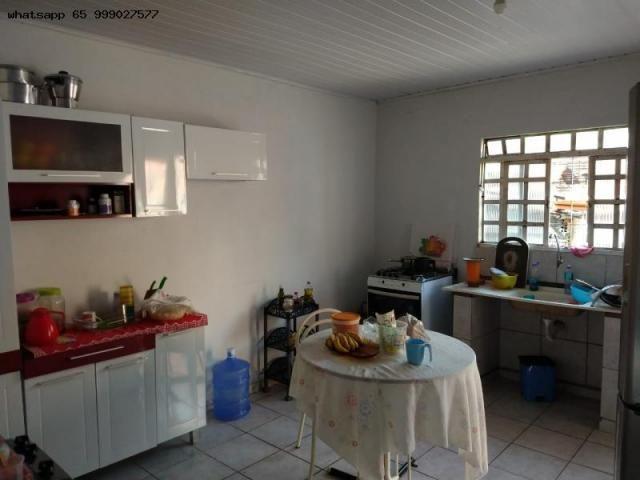 Casa Usada para Venda em Várzea Grande, 07 de maio, 2 dormitórios, 1 banheiro, 1 vaga - Foto 4