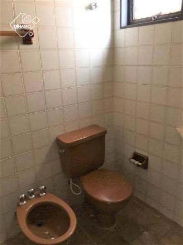 Apartamento com 2 dormitórios para alugar, 80 m² por R$ 1.100,00/mês - Centro - Ribeirão P - Foto 10