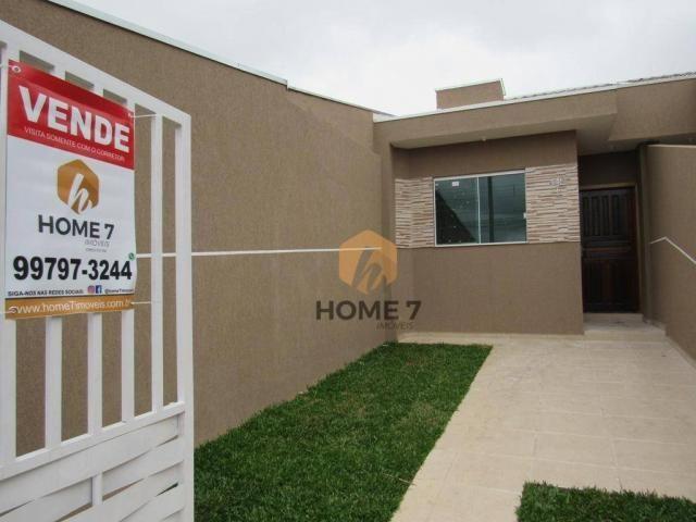 Casa com 2 dormitórios à venda, 43 m² por R$ 195.000 - Sítio Cercado - Foto 2