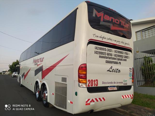 LD 1450 leito 28 lugar Scania k124 - Foto 8