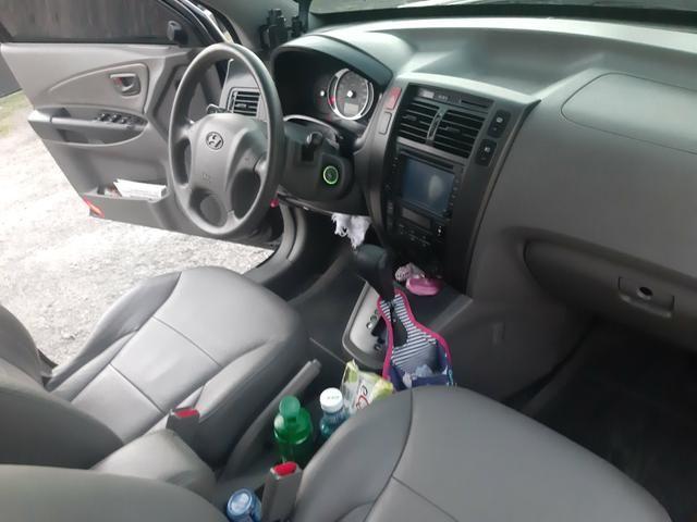 Hyundai tucson 2.0 mpfi gls automático ano 2015 todo equipada com gnv - Foto 14