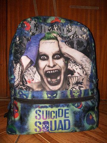 Mochila Joker Esquadrão Suicida Icons (material impermeável)
