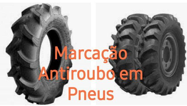 Caminhão, máquinas pesadas e agrícolas marcação antiroubo. - Foto 3