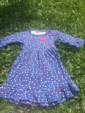 Vestido menina malha - Foto 2