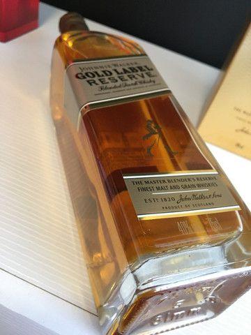 Whisky Johnie Walker Gold Label Reserve 750ML - Foto 2