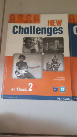 New Challenges A2 Student's Book 2 e Workbook com CD 2 Pearson - Foto 2