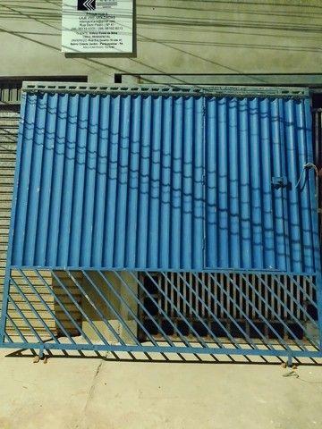 Portão de metalon, de 3x3