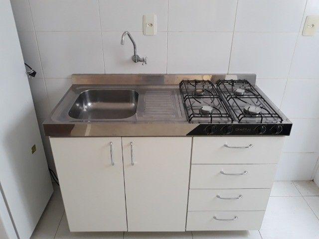 Ótimo apartamento de 01 dormitório Mobiliado na Almirante Barroso - Foto 3