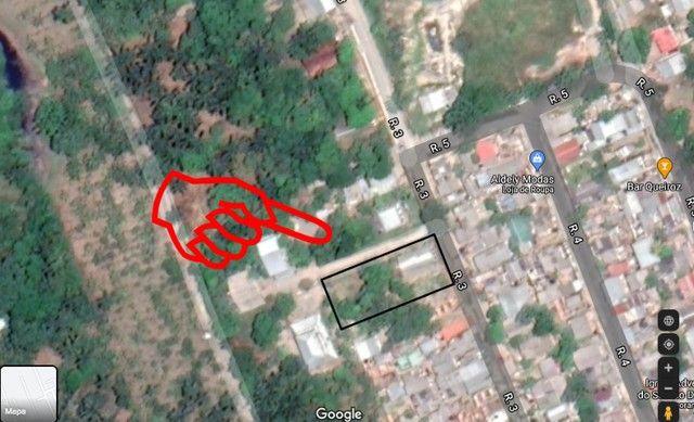 vendo ou troco uma casa com terreno no bairro puraquequara, $ 80 mil reias - Foto 2