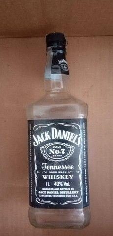 Garrafas Vazias para artesanato Gin whisky vodka - Foto 3