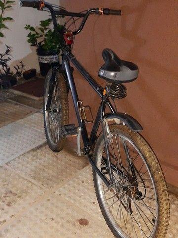 Bicicleta em alumínio com nota fiscal - Foto 2