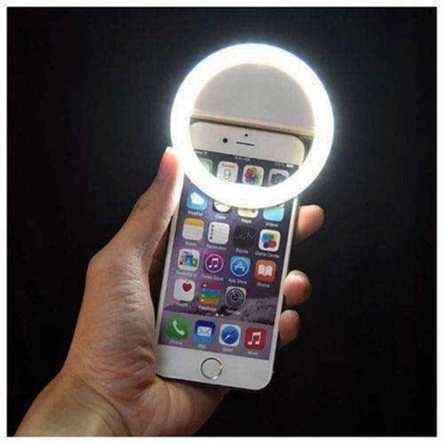 Anel De Led Luz Para Selfie Ring Light Flash Celular  - Foto 2