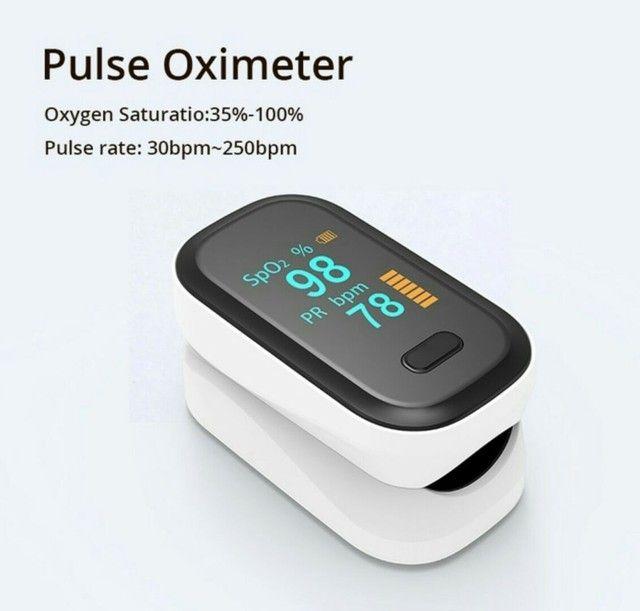 BOXYM Oxímetro de pulso na ponta do dedo, monitor de saturação<br><br> - Foto 4